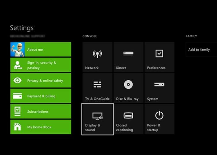 ajustar sonido Xbox One