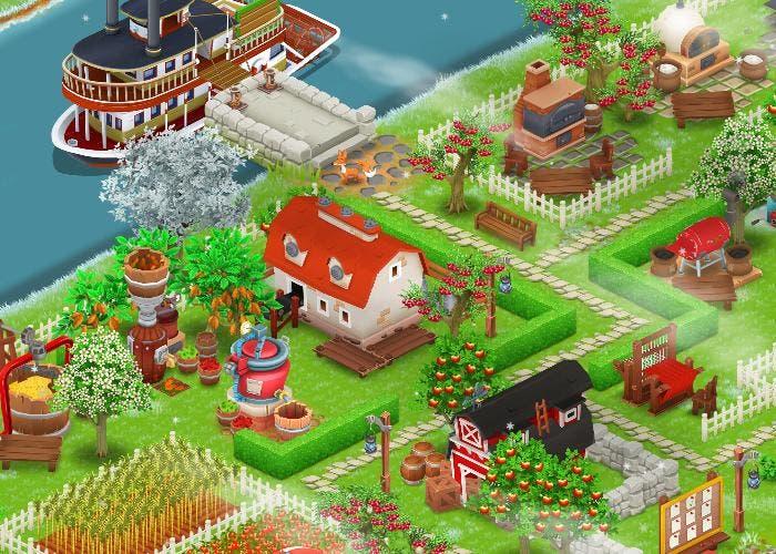 Buen pueblo en HayDay