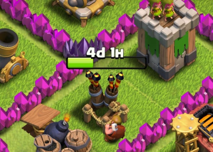Clash of Clans estrategia xballesta torre infernal