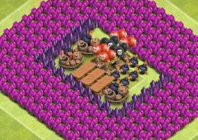 Clash of Clans muros y trampas