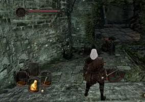 Dark Souls 2 muros ilusorios o rompibles
