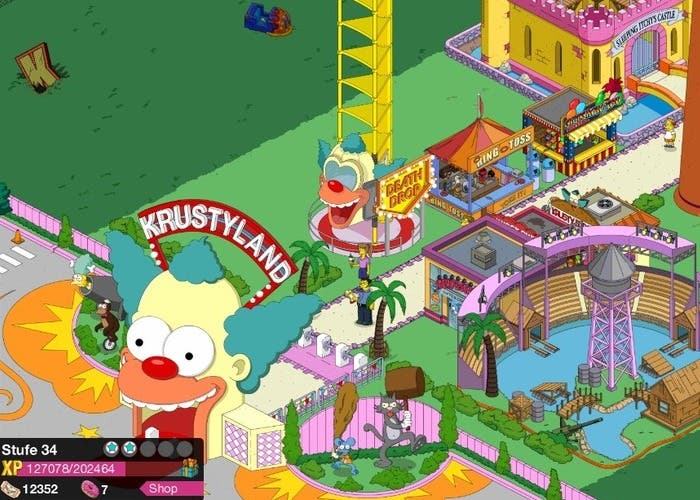 Springfield Game Krustyland