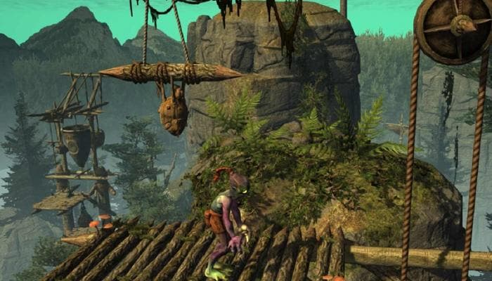 Gameplay de Abe's Oddysee 2014