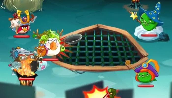 Angry Birds Epic ultimo nivel castillo de las montañas