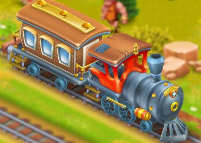 Hay day tren particular pueblo hay day