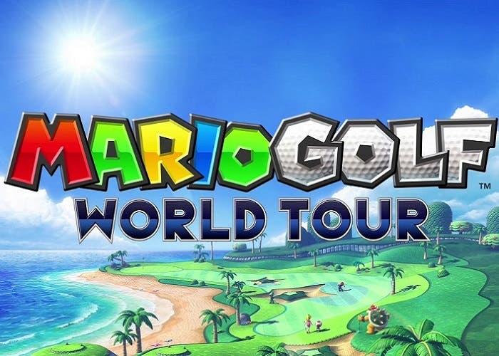 Mario Golf World Tour logo