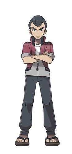 Líder gimnasio Norman