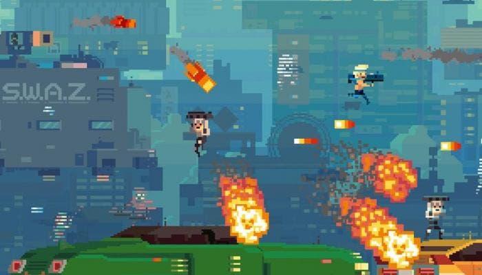 Gameplay de Super Time Force Ultra