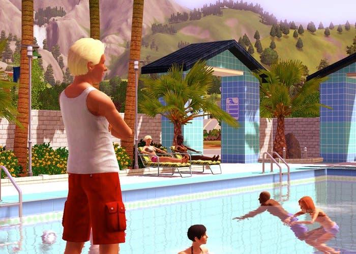 Piscina en los Sims