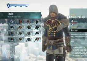 Assasins Creed Unity tráiler personalización