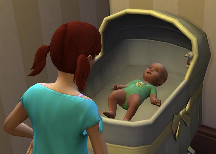 Bebé en Sims 4