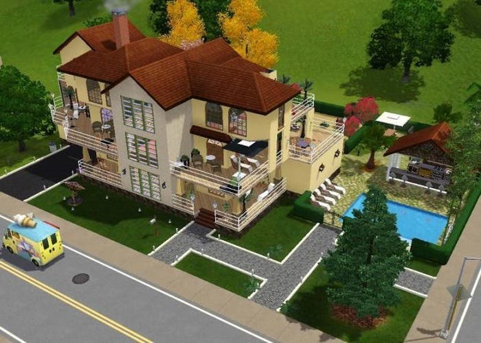 Imagen casa en modo construcción