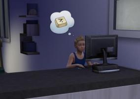 Hijo en Sims 4