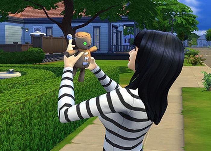 Muñeco de vudú Sims 4