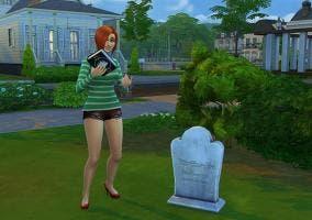 Resucitar muertos en Sims 4