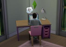Sims 4 buscando empleo