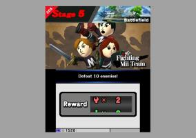 Super Smash Bros 3DS modo clasico