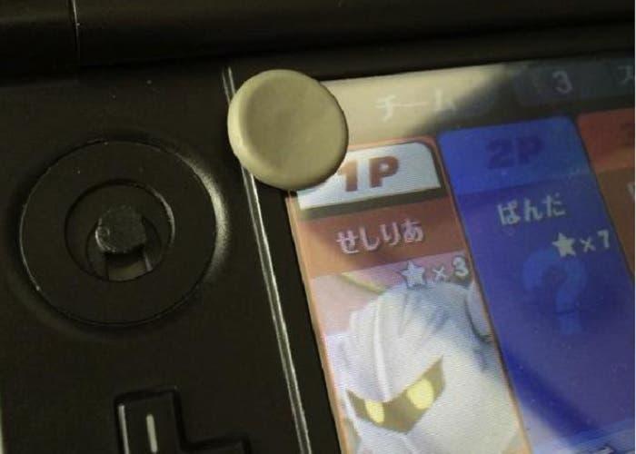 Super Smash Bros 3DS rompe pad analógico