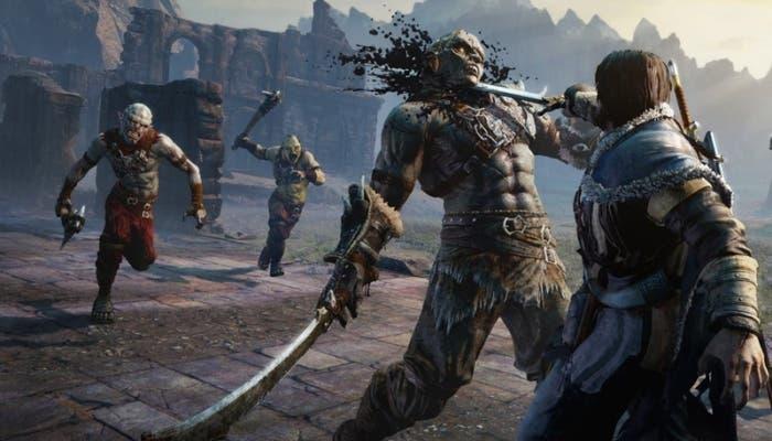 Escena del juego La Tierra-Media: Sombras de Mordor