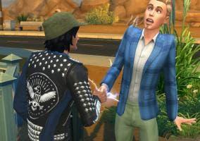 Travesura en Los Sims 4