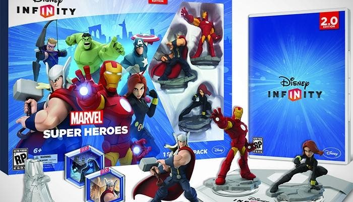 Starter Pack de Disney Infinity 2.0 Marvel Edition