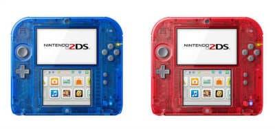Nintendo 2DS Roja y Azul