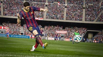 FIFA15 Messi simulador fútbol