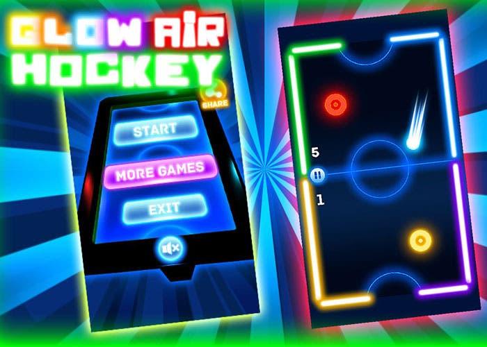 glow-air-hockey