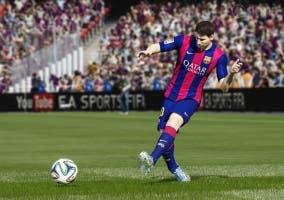 Imagen de FIFA 15 con Messi