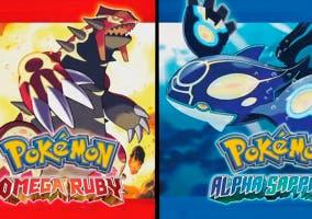 Pokemon Rubí-Omega Zafiro-Alfa