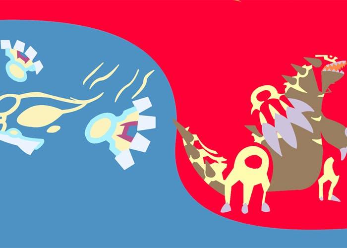 Imagen Groudon y Kyogre Pokémon