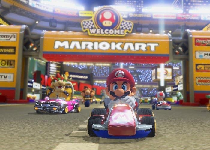 Mario Kart 8 Estadio Mario Kart