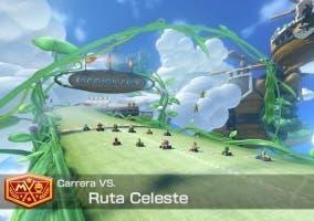 Mario Kart 8 Ruta Celeste