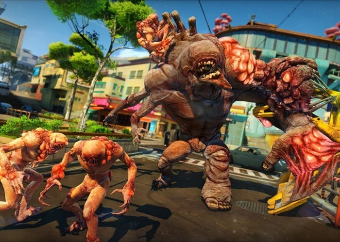 Escena de Sunset Overdrive