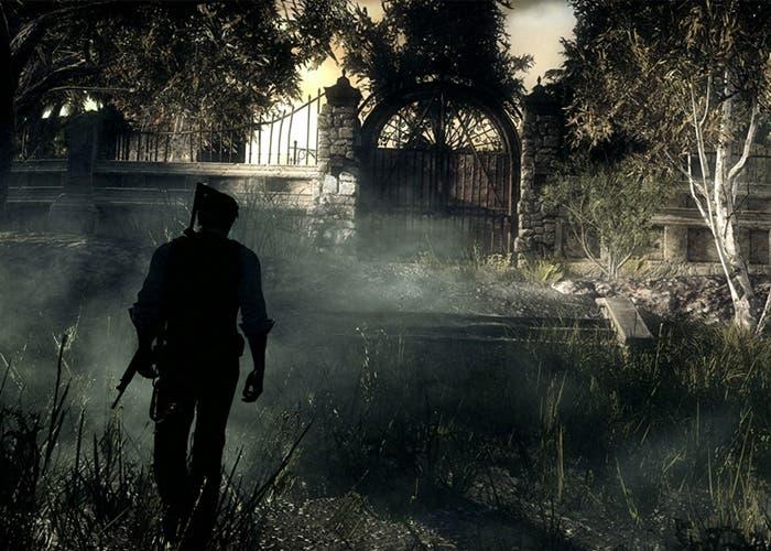 Escena del juego The Evil Within