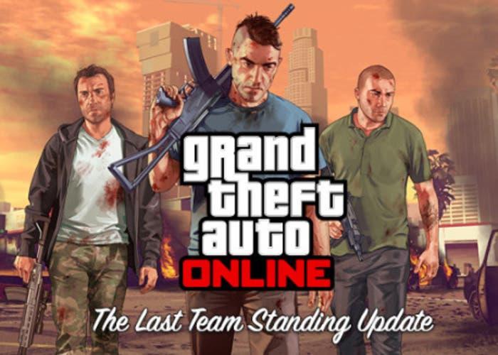 Portada de la actualización de GTA V Online