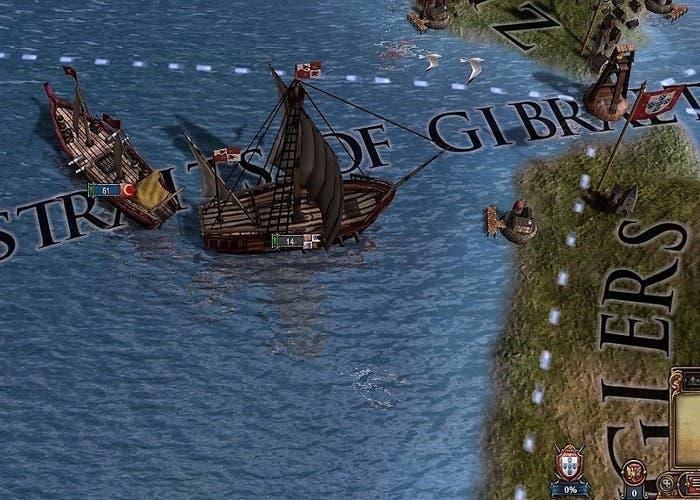 imagen con el zoom al máximo de un barco en euiv