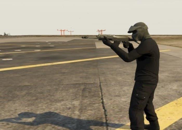 detalle de las nuevas armas