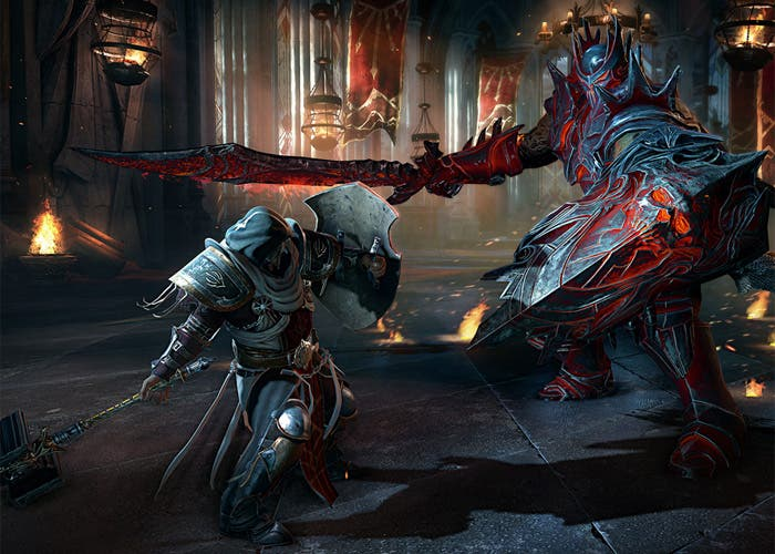 Lords of the Fallen Combate