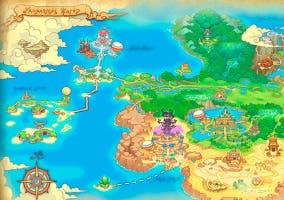 Mapa principal Fantasy Life