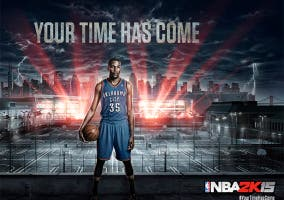 NBA 2k15 Your time has come