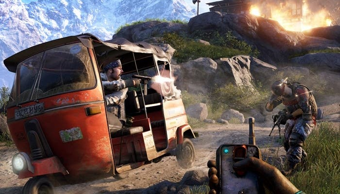 Gameplay de Far Cry 4
