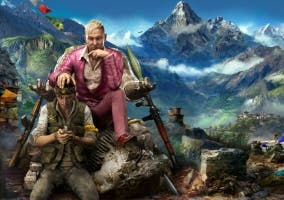 Far Cry 4 Rey Pagan con soldado