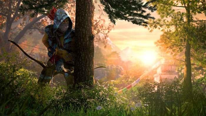 imagen de un cazador de Kyrat