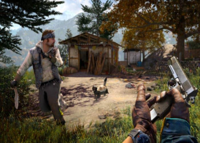 Imagen de escena cazando Ratel