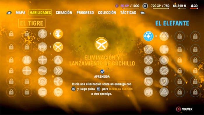 Far Cry 4 habilidades