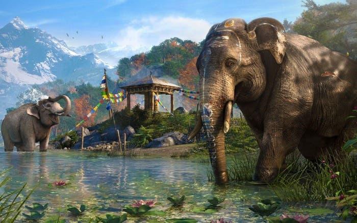 Imagen de la naturaleza en Far Cry 4