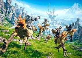 Final Fantasy Explorer cazadores