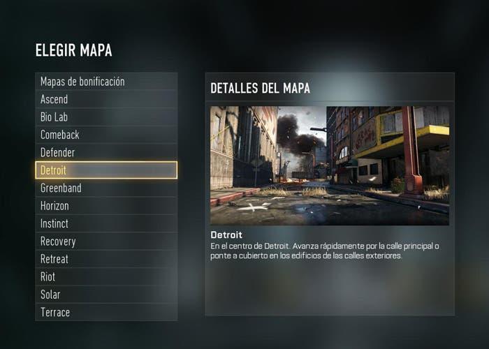 Mapas Avanced Warfare