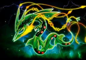 Mega-Rayquaza Pokémon Rubí Omega y Zafiro Alfa